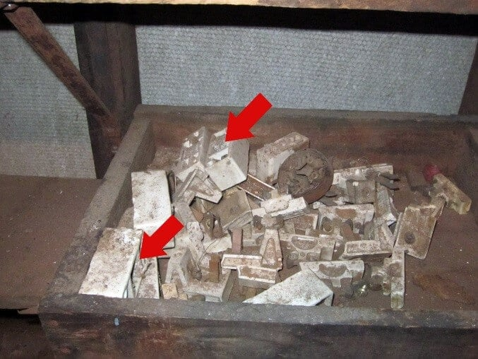 Asbestos Audits Queensland AAQ PL - Asbestos Bits on Descarded Fuses