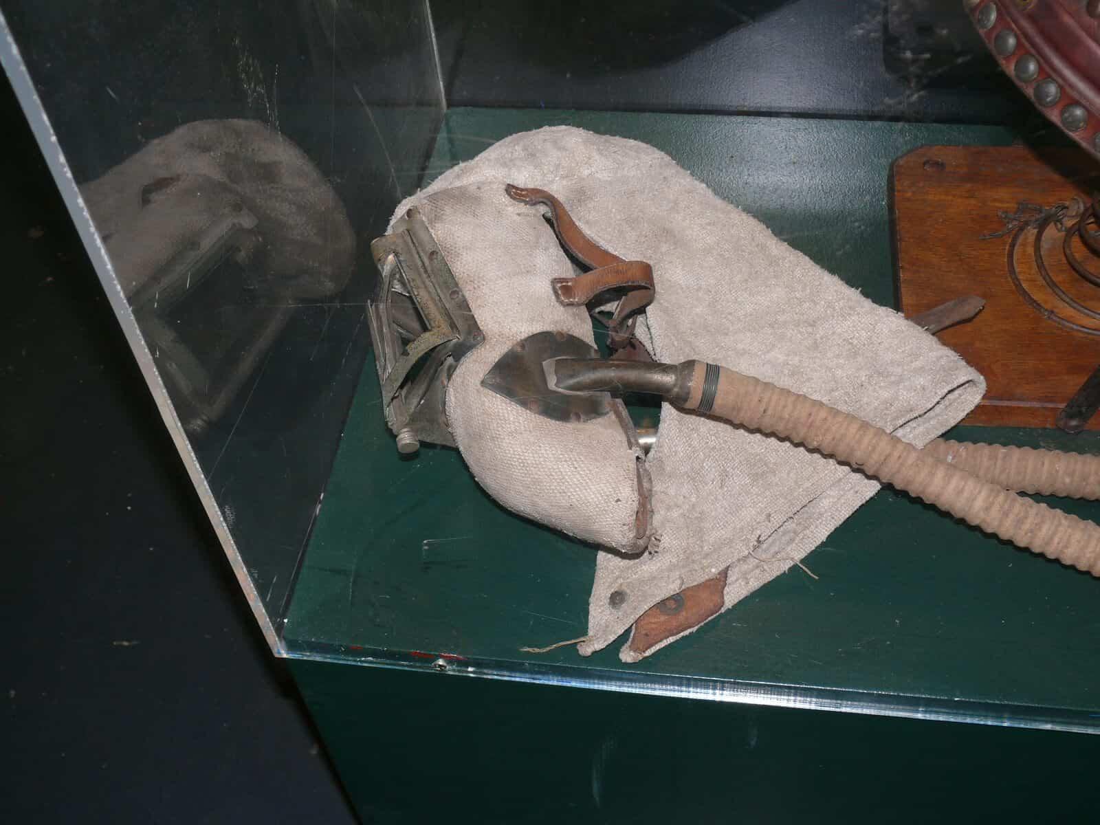 Asbestos Audits Queensland AAQ PL - Asbestos in Museums- Breathing Apparatus with Asbestos