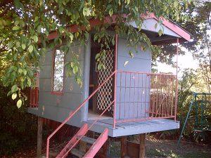 Asbestos Audits Queensland AAQ PL - Asbestos in Plank Cubbyhouse