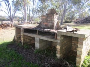 Asbestos Audits Queensland AAQ PL - Barbeque Stand with Asbestos