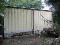 Asbestos Audits Queensland AAQ PL - Garage Profiled with Asbestos