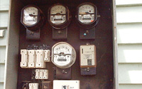 Asbestos based resin electrical backing board