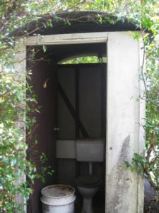 asbestos toilet