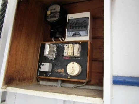 Asbestos Audits Queensland AAQ PL - Asbestos Electrical Junction Box
