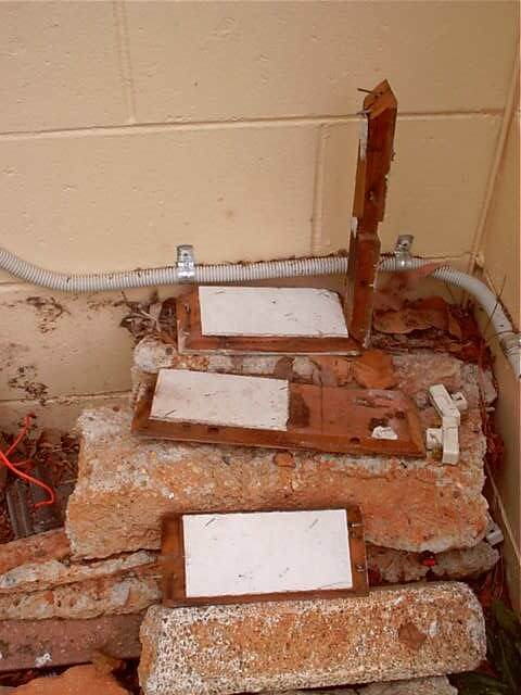 Asbestos Audits Queensland AAQ PL - Asbestos in Discarded Electrical Boxes