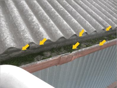 Asbestos Audits Queensland AAQ PL - Asbestos in Gutters
