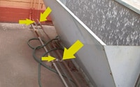 Asbestos Audits Queensland AAQ PL - Woven Asbestos Aircon Piping